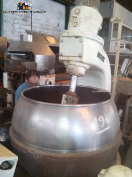 Pot to 200 litres jacketed digestor