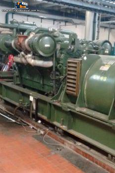 04 diesel generators GM engine of 1,250