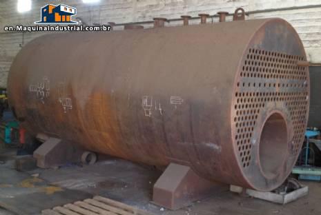 Steam boiler for 12,000 kg / h SFW