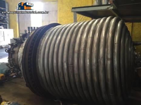 Pressure reactor for 6,000 L Pfaudler