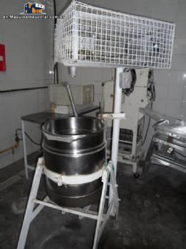 Production machine of gnocchi