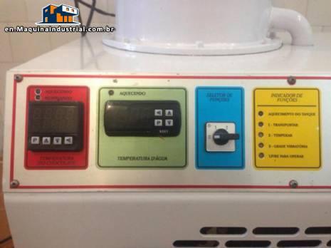 Tempering machine for chocolates Hebleimar