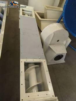 Conveyor thread for powders Bayervento